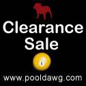 Clearance Sale at Pooldawg