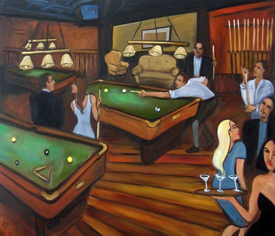 Pool Amp Billiards Fine Art Amp Paintings