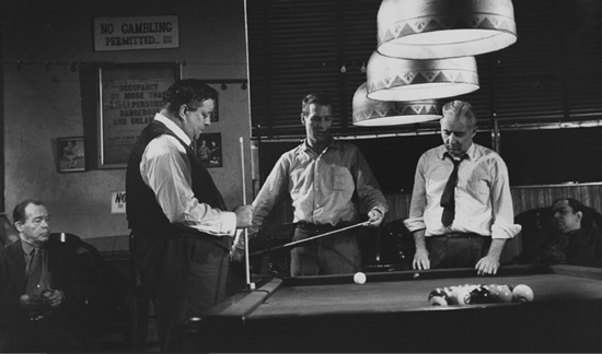 The Hustler: Gleason, Newman, Willie Mosconi